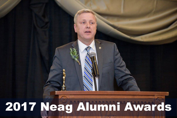 Alan Addley at the Neag School Alumni Awards, March 2017