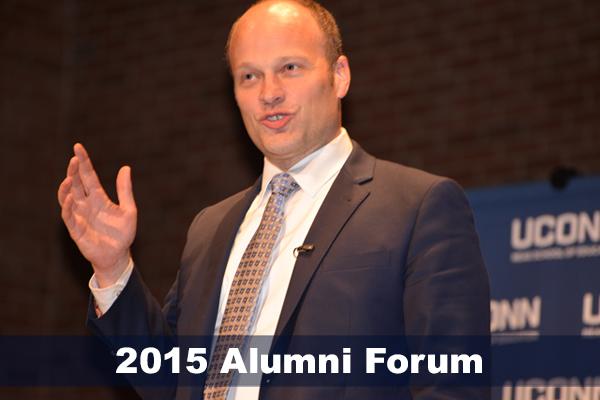 2015 Alumni Forum honoring Garth Harries