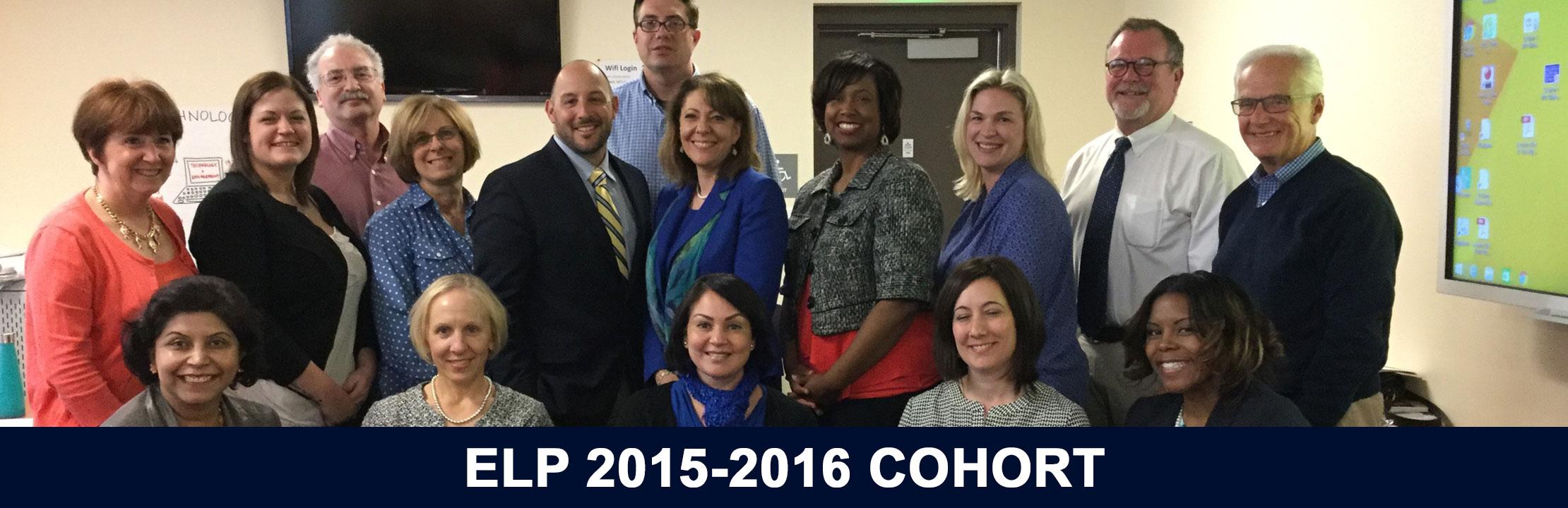 2015-2016 ELP Cohort