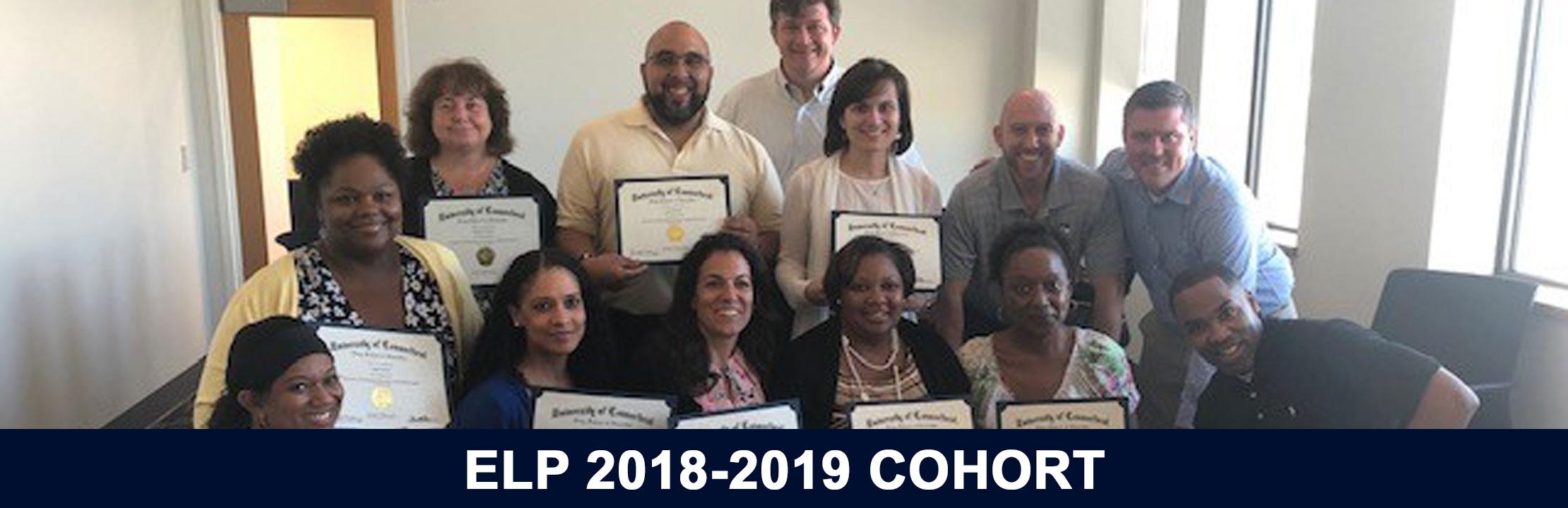 2018-2019 ELP Cohort