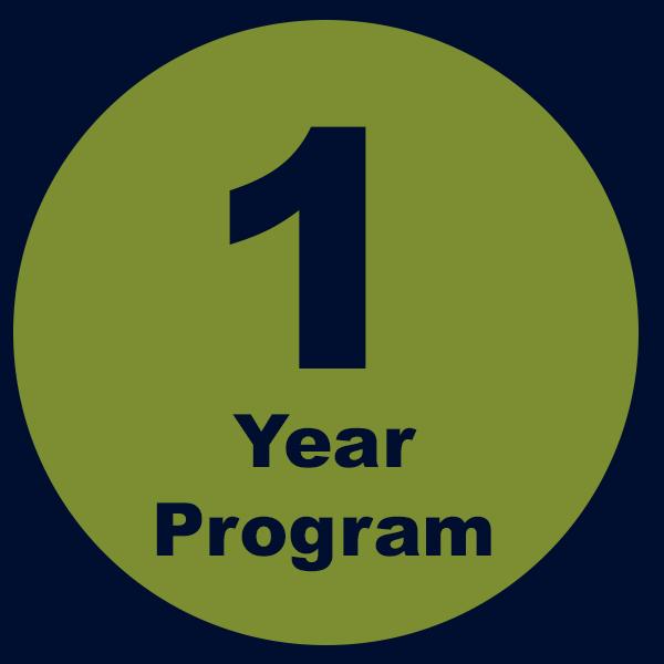 1 Year Program